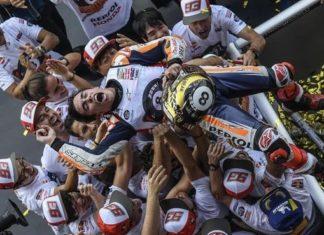 Pembalap Repsol Honda, Marc Marquez (Milagro/Gigi Soldano)