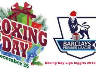 Jadwal Boxing Day Liga Inggris 2019-2020