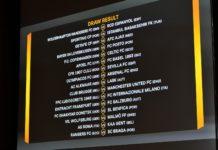 Drawing babak 32 Besar Liga Europa baru saja dilaksanakan di Nyon, Swiss tepatnya Senin (16/12/2019) pukul 19.00 WIB. (Twitter/SevillaFC_ENG)