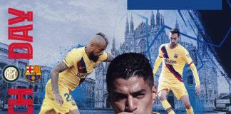 Inter Milan vs Barcelona. Barcelona tidak membawa Lionel Messi untuk melawan Inter Milan dalam Matchday terakhir Liga Champions 2019-2020 di Giuseppe Meazza, Rabu (11/12/2019) pukul 03.00 WIB.