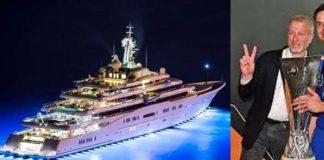 Bos Chelsea, Roman Abramovich dan kapal pesiar super mewahnya
