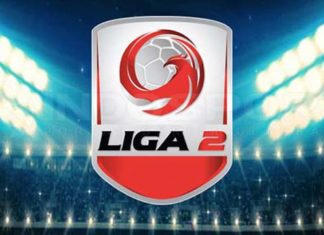 Liga 2 2020. Ada 24 tim terdiri dari 12 tim Grup Barat dan 12 Tim Grup Timur