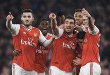 Arsenal berhasil mempermalukan Manchester United dengan skor 2-0 dalam pertandingan Liga Inggris di Emirates Stadium, Rabu (1/1/2020) (Twitter Mikel Arteta)