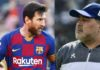 Lionel Messi dan Maradona