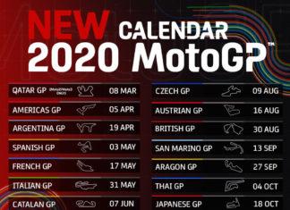 Jadwal terbaru MotoGP 2020 (Twitter @MotoGP)