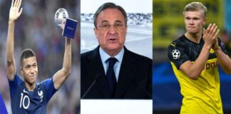Real Madrid tanggapi rumor beli Mbappe dan Haaland