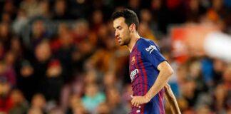 Gelandang Barcelona Sergio Busquets