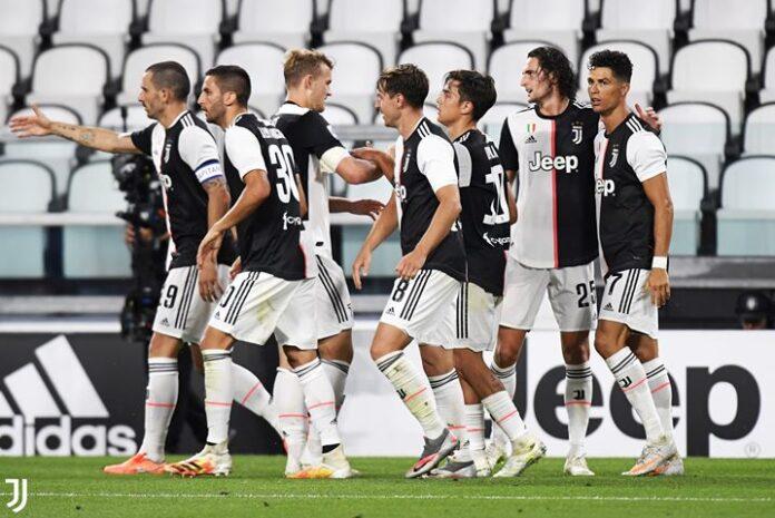 Bintang Juventus Cristiano Ronaldo dalam Liga Italia