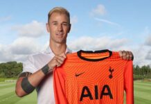 kiper Tottenham Hotspur Joe Hart